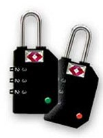 SearchAlert TSA Luggage Lock Black