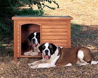 Deluxe Dog Log Cabin