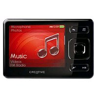 Creative ZEN 2GB Black MP3 Player