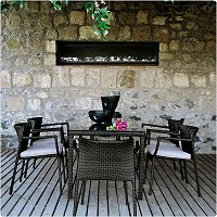 Luxury outdoor patio set
